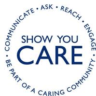 show you care graphic