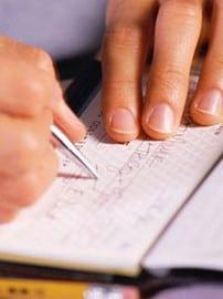 Image Of Write Check